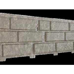 U•PLAST Фасадные панели Стоун Хаус Кирпич Бежевый