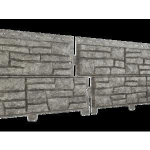 U•PLAST Фасадные панели Стоун Хаус Сланец Бежевый