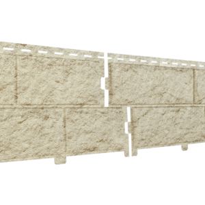 U•PLAST Фасадные панели Стоун Хаус Камень Золотистый