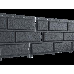 U•PLAST Фасадные панели Стоун Хаус Кирпич Графитовый