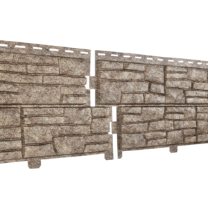 U•PLAST Фасадные панели Стоун Хаус Сланец Бурый