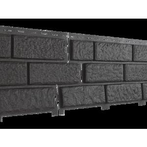 U•PLAST Фасадные панели Стоун Хаус Кирпич Коричневый
