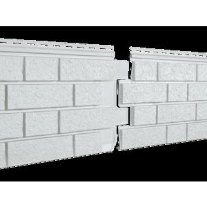 U•PLAST Фасадные панели Стоун Хаус S-Lock Клинкер Дымчатый