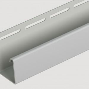 Фасадный J профиль 30 мм Дымчатый