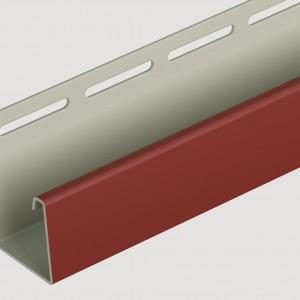 Фасадный J профиль 30 мм Табачный