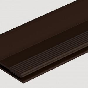 Фасадный L профиль 35 мм  Шоколадный