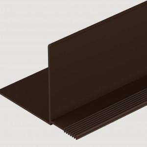 Фасадный внутренний угол Шоколадный