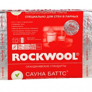 ROCKWOOL САУНА БАТТС (1000*600*50)