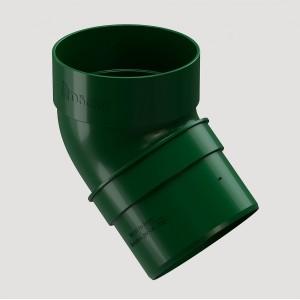Колено 45˚,Цвет  Зеленый (Ral 6005)