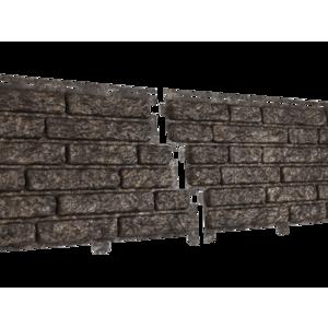 U•PLAST Фасадные панели Стоун Хаус Кварцит Коричневый