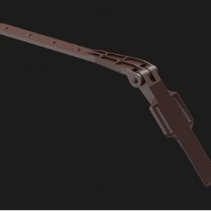 Docke PREMIUM, Крепление регулируемое,Цвет Шоколад (Ral 8019)
