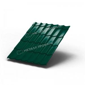 Металлочерепица МП Ламонтерра Colorcoat PrismaRAL 6005