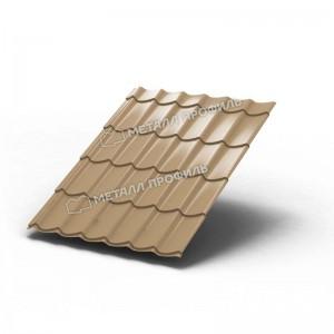 Металлочерепица МП Ламонтерра Colorcoat PrismaEphyra Золотой металлик