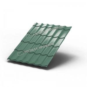 Металлочерепица МП Ламонтерра Colorcoat PrismaPegasus Светло-зеленый металлик
