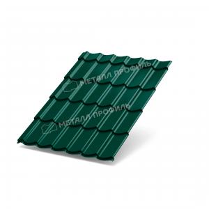 Металлочерепица МП Ламонтерра X Colorcoat Prisma RAL6005