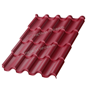 Металлочерепица МП Монтерроса-M Colorcoat Prisma Ral 3005