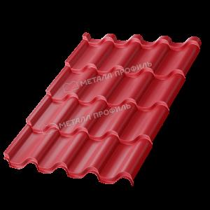 Металлочерепица МП Монтерроса-M Colorcoat Prisma Ral 3011