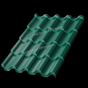 Металлочерепица МП Монтерроса-M Colorcoat Prisma Ral 6005