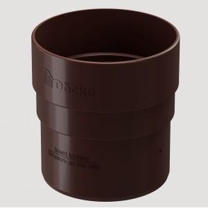 Муфта соединительная,Цвет Тёмно-коричневый (Ral 8019)
