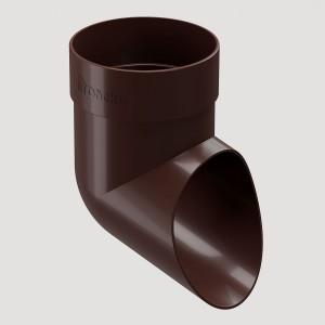 Наконечник,Цвет Тёмно-коричневый (Ral 8019)