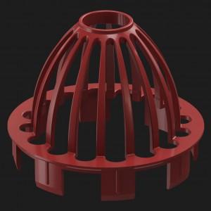 Docke PREMIUM, Сетка защитная,Цвет Гранат (RR 29)