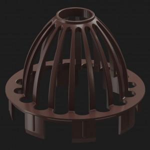 Docke PREMIUM, Сетка защитная,Цвет Шоколад (Ral 8019)