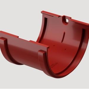 Соединитель желоба,Цвет Красный (Ral 3005)