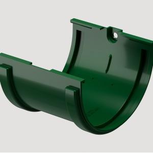 Соединитель желоба,Цвет Зеленый (Ral 6005)