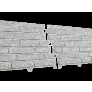 U•PLAST Фасадные панели Стоун Хаус Кварцит Светло-Серый