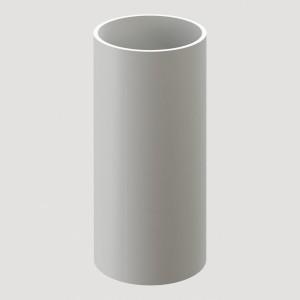 Труба водосточная, 1 м,Цвет Белый (Ral 9003)