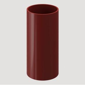 Труба водосточная, 1 м,Цвет Красный (Ral 3005)