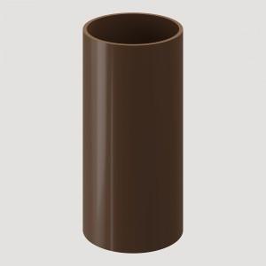 Труба водосточная, 1 м,Цвет Светло-коричневый (Ral 8017)
