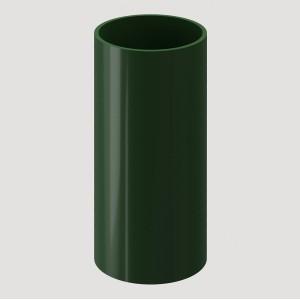 Труба водосточная, 1 м,Цвет Зеленый (Ral 6005)