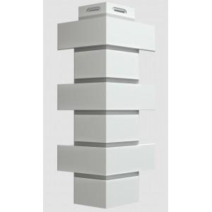 Фасадный  угол FLEMISH Белый цвет