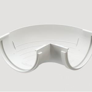 Угловой элемент 90° внешний,Цвет Белый (Ral 9003)