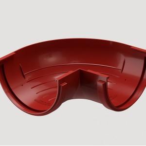 Угловой элемент 90° внешний,Цвет Красный (Ral 3005)