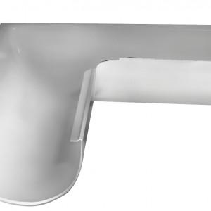 Угол желоба внешний 90° 150 мм RAL 9003