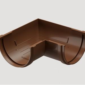 Угловой элемент 90° универсальный,Цвет Светло-коричневый (Ral 8017)