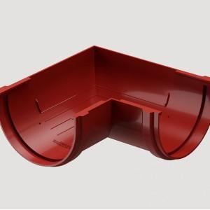 Угловой элемент 90° универсальный,Цвет Красный (Ral 3005)