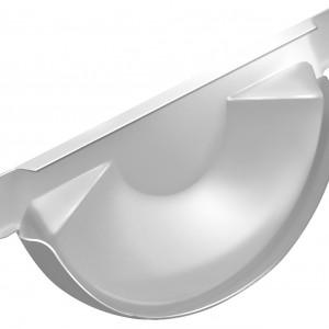 Заглушка торцевая универсальная 150 мм RAL 9003