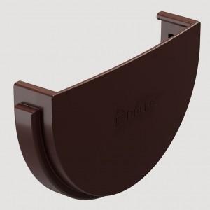Заглушка желобаЦвет Тёмно-коричневый (Ral 8019)