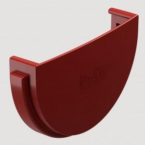 Заглушка желобаЦвет  Красный (Ral 3005)