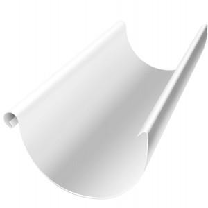 Желоб полукруглый 150 мм 3 м RAL 9003