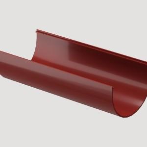 Желоб водосточный 3м,Цвет Красный (Ral 3005)