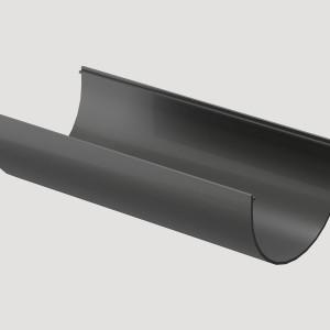 Желоб водосточный 3м,Цвет  Серый (Ral 7004)
