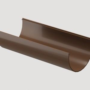 Желоб водосточный 3м,Цвет Светло-коричневый (Ral 8017)