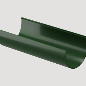 Желоб водосточный 3м,Цвет Зеленый (Ral 6005)